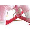 Koń na biegunach TEDDY różowy