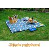 Koc piknikowy / plażowy Sapphire 200 x 200 cm z folią aluminiową - orios