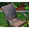 Zestaw mebli z technorattanu SANTOS - stół + 6 krzeseł