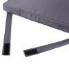 Zestaw poduszek na krzesła Sapphire - granatowe - 4 sztuki
