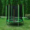 Trampolina Sapphire 4.6 FT 140 cm zielona + GRATIS