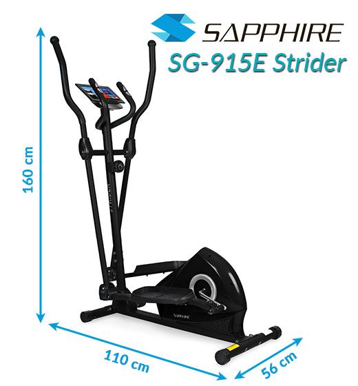 Orbitrek magnetyczny Sapphire SG-915E Strider