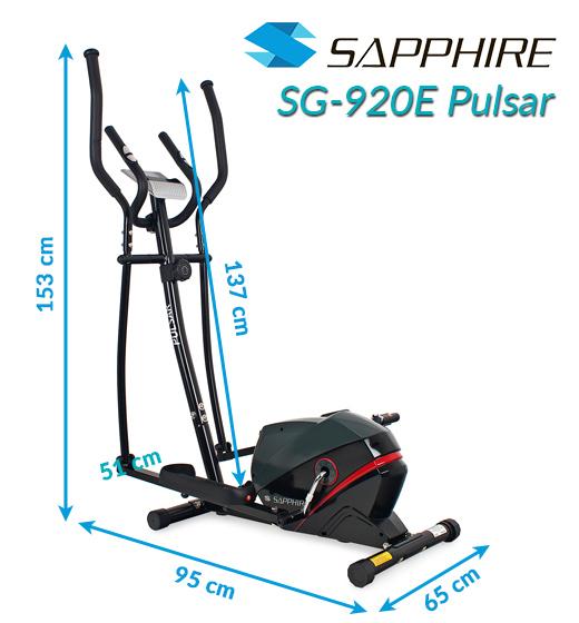 Orbitrek magnetyczny Sapphire SG-920E Pulsar