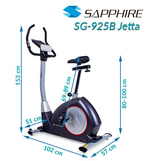 Rower elektromagnetyczny Sapphire SG-925B JETTA
