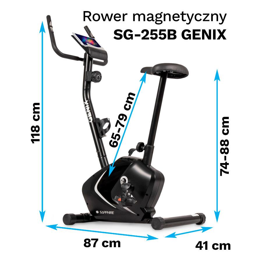 Rower magnetyczny Sapphire SG-255B Genix