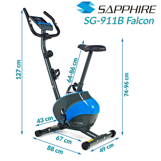 Rower magnetyczny SG-911B Sapphire FALCON