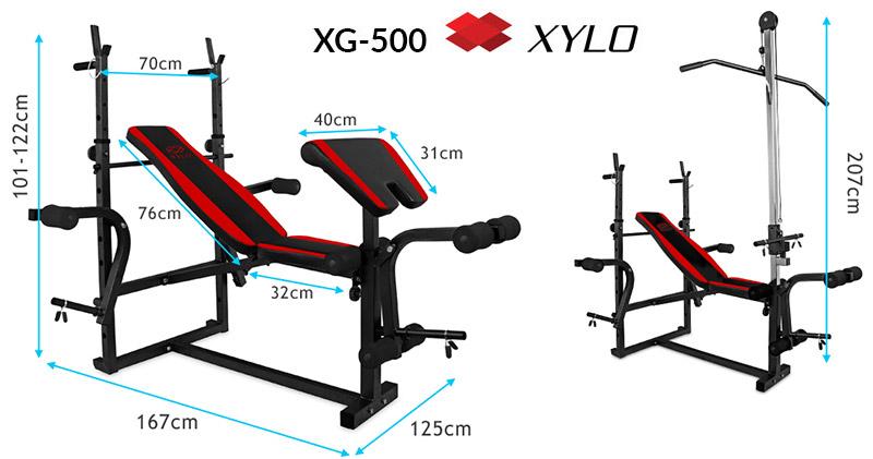 Ławka XYLO XG-500 + Gratisy: wyciąg i modlitewnik