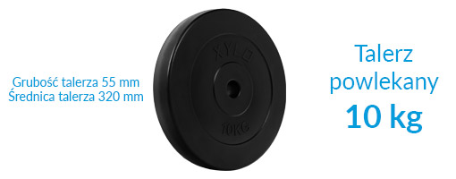 Zestaw obciążeń Xylo Solid 130 kg