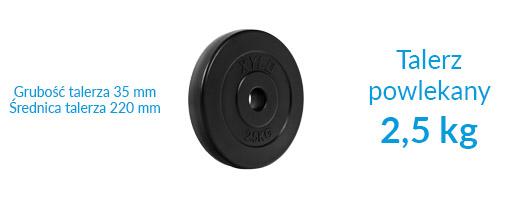 Zestaw obciążeń Xylo Solid 20 kg
