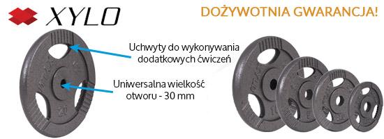 Zestaw obciążeń Xylo Master 20 kg
