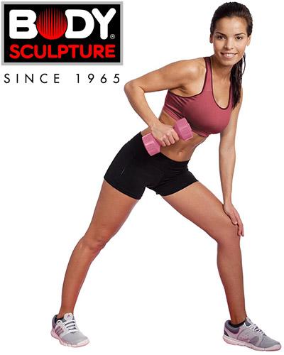 Hantle powlekane 2x1,5kg Body Sculpture SW 101
