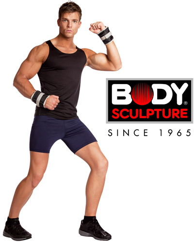 Obciążniki na ręce i nogi 2x1,15kg Body Sculpture SB 2720