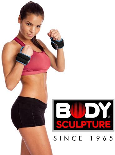 Obciążniki na dłonie 2x0,45 kg Body Sculpture BB 2600