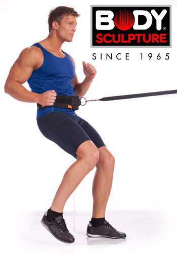 Guma fitness - rezystor prędkości Body Sculpture BB 2402