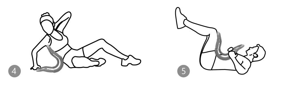 Trener mięśni AB Toner 7w1 Body Sculpture BB 6231