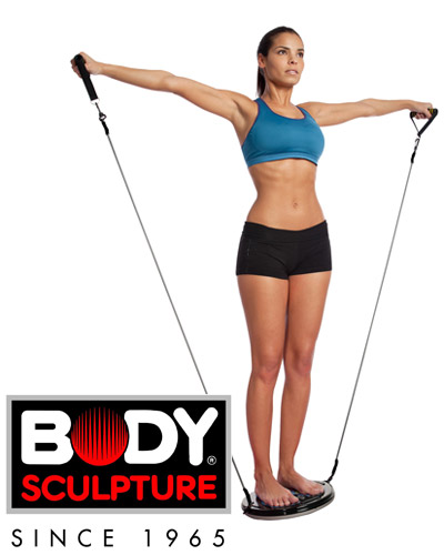 Twister z gumami fitness Body Sculpture BB 921