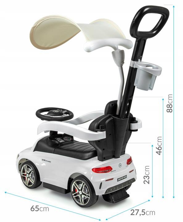 Jeździk pchacz dla dziecka Mercedes AMG C63