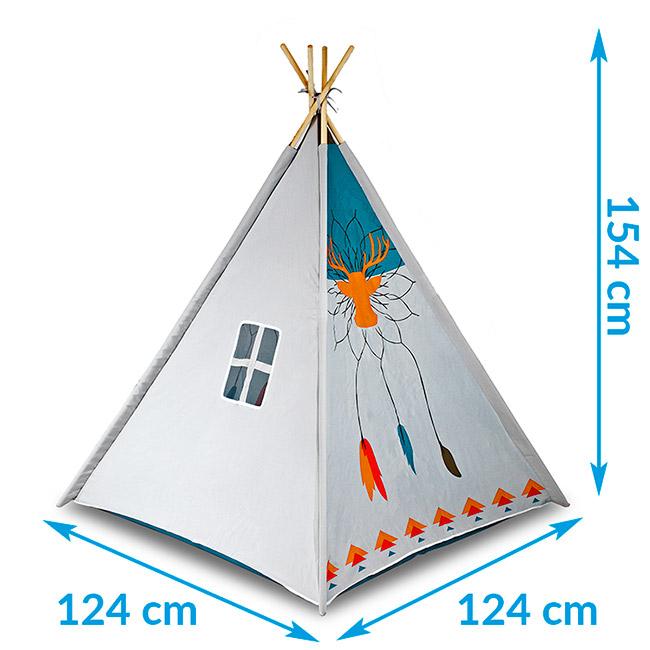 Namiot dla dzieci tipi wigwam