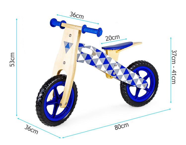 Rowerek biegowy Loopy drewniany