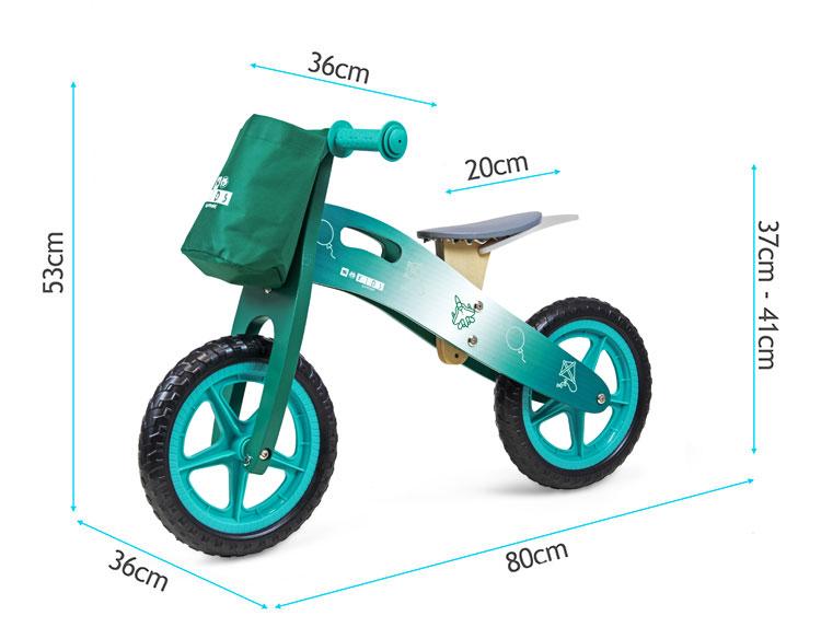 Rowerek biegowy Sapphire Kids Loopy drewniany