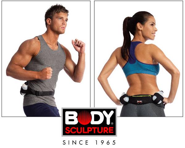 Pas do biegania z bidonami Body Sculpture BP 101