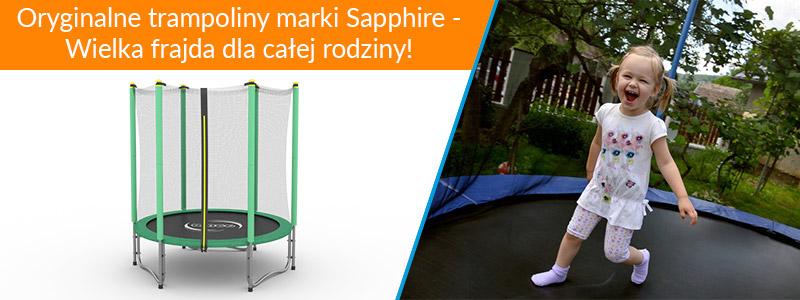 Trampolina Sapphire 4.6 FT 140 cm