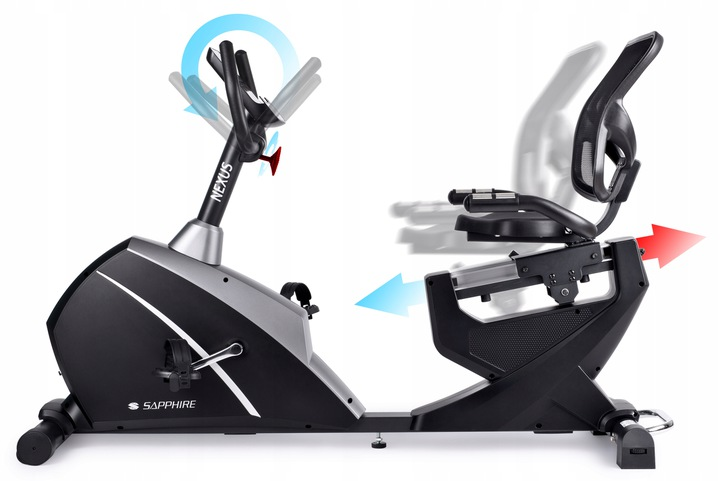 Rower poziomy Sapphire SG-9050RB NEXUS