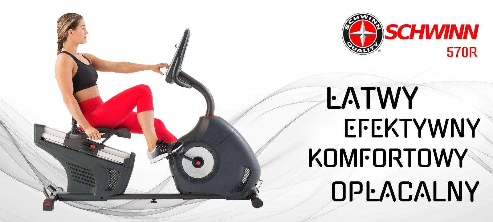Rower programowany poziomy Schwinn 570R